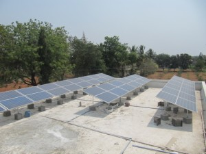 zonnepanelen COUNT India